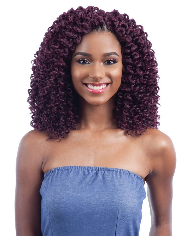 Soft Baby Curl Freetress Synthetic Hair 2x Wand Curl Crochet Braid