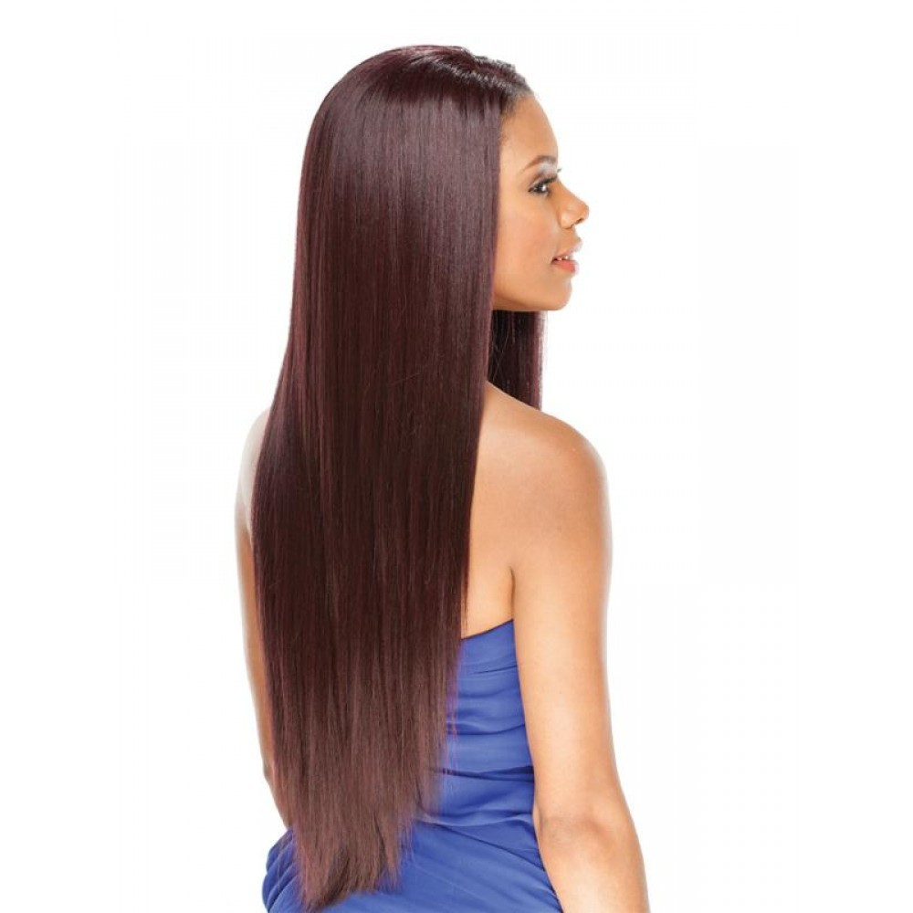 Amerie 28 By Freetress Equal Lace Front Wig Straight Long Synthetic