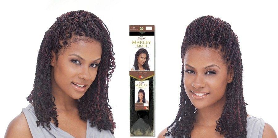 Freetress Equal Jamaican Twist Marley Braid Synthetic