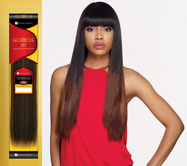 Goddess Gold Original Remi Yaki Sensationnel 100 Human Remy Hair
