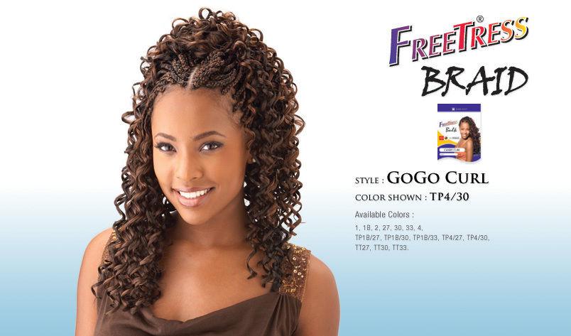 Gogo Curl By Freetress Bulk Kanekalon Curly Braiding Hair Ebay