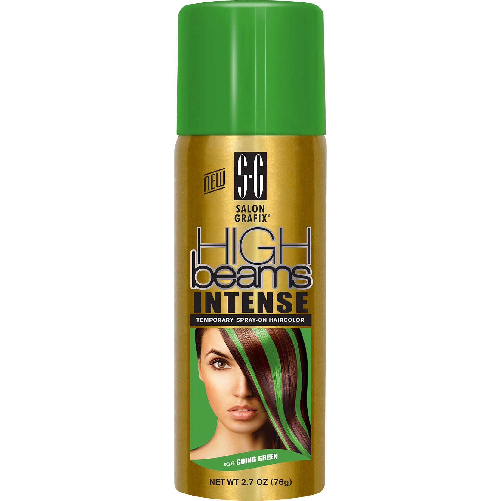 2 Salon Grafix High Beams Intense Temporary Spray On Haircolor 26