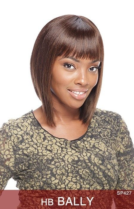 Hb Bally By Vanessa Vesa 100 Human Hair Premium Blend Wig Short Ebay