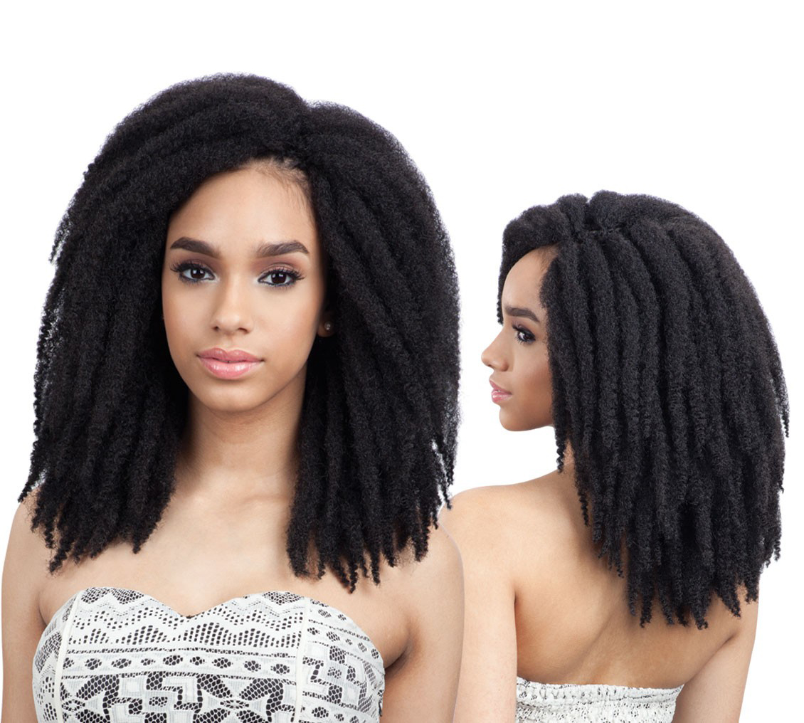 Jamaican Twists Hairstyles: FREETRESS SYNTHETIC CROCHET BRAID