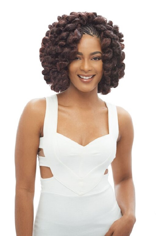 crochet kanekalon hair styles 2x bounce twist janet collection noir 100 kanekalon 1289
