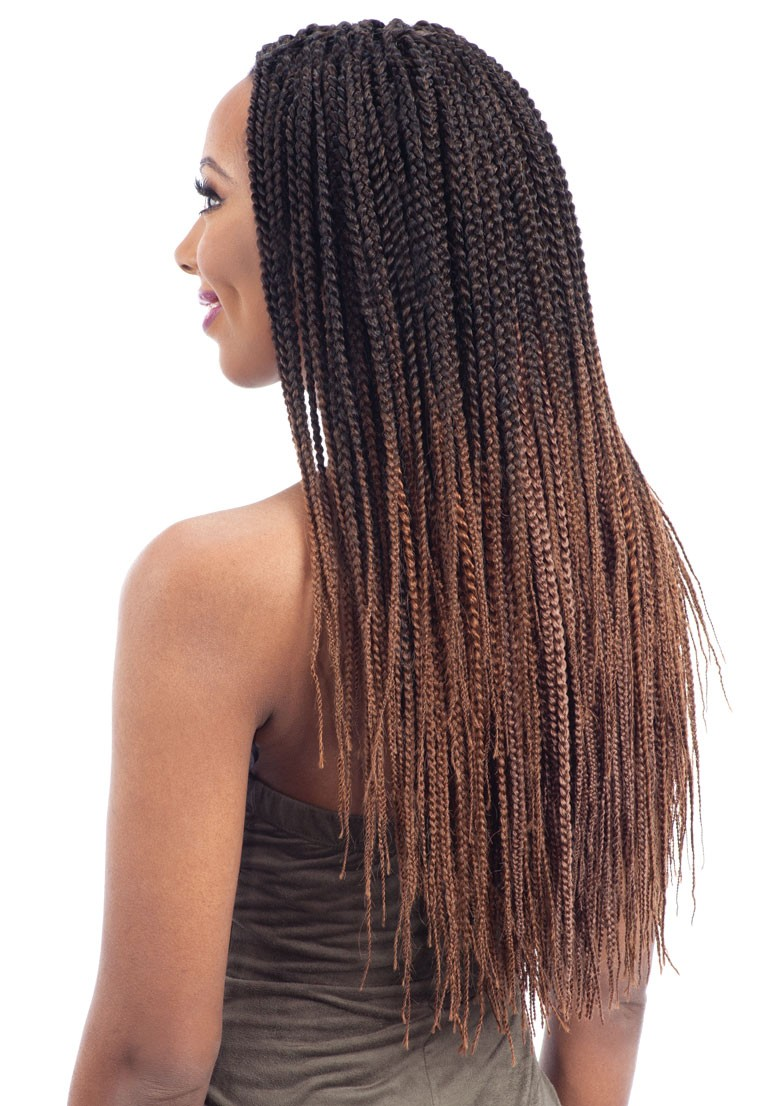 Pre Feathered Box Braid 20 Quot Freetress Synthetic Pre Loop