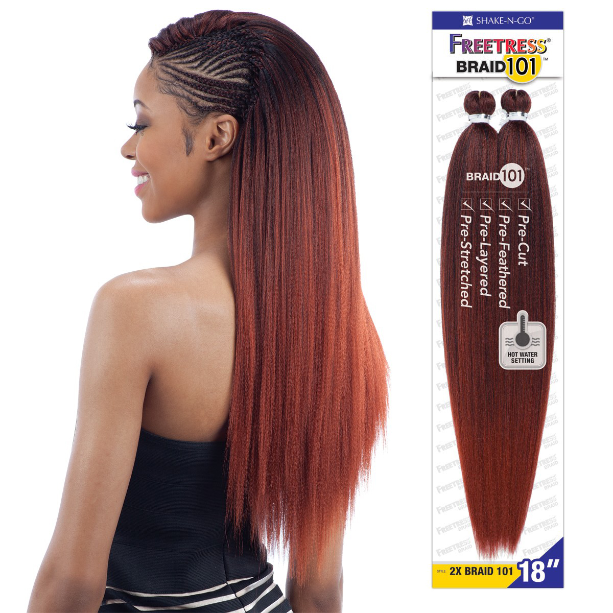 2x Braid 101 18 Quot Freetress Synthetic Hair Mega Jumbo