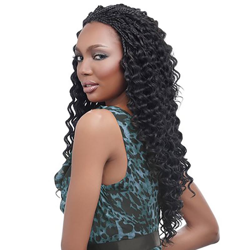 Harlem125 Synthetic Crochet Hair Kima Braid Ripple Deep 20 Ebay