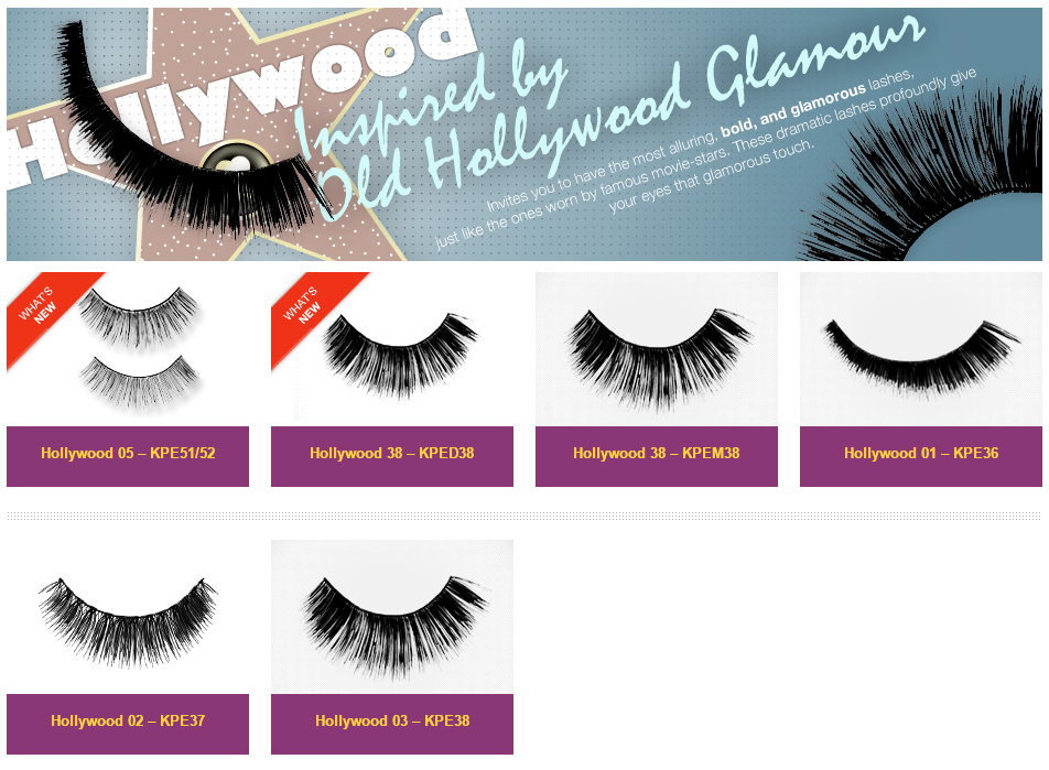 ff0af0aede2 i-Envy by Kiss Hollywood Eyelashes. Inspired by Old Hollywood Glamour, this  collection invites you to have the most alluring, bold, and glamorous  lashes.