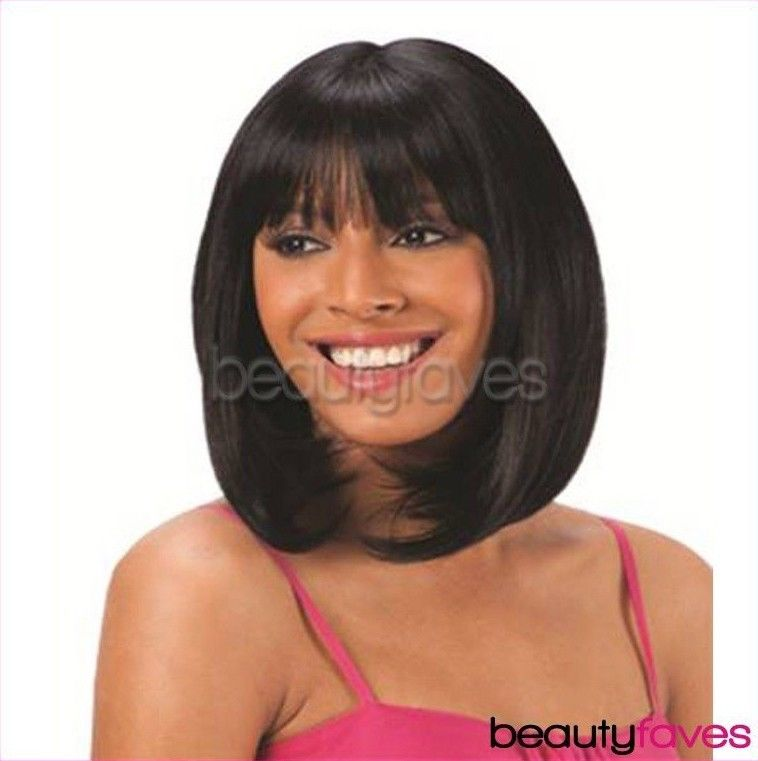 Lace Blunt Bang By Shake N Go Freetress Equal Clip In Extension