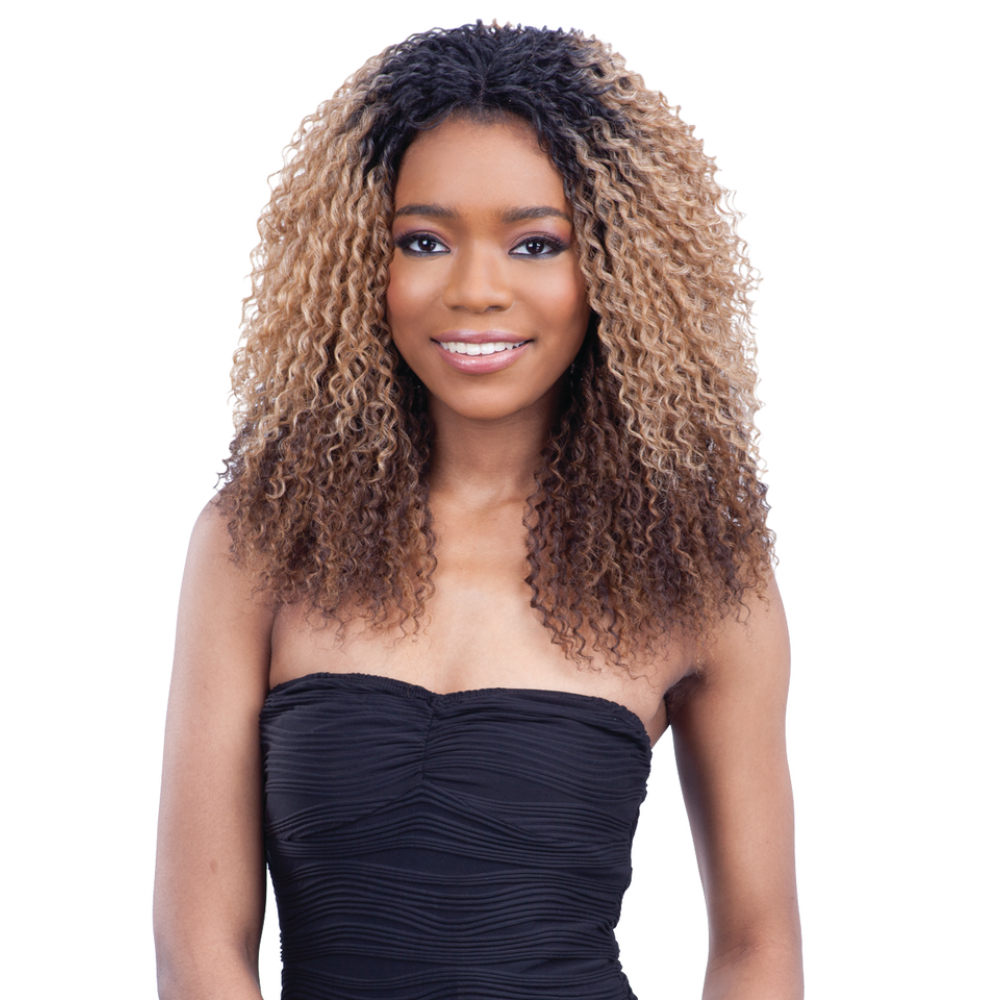 Logan Equal Freetress 3 Way Part Hand Tied Lace Front