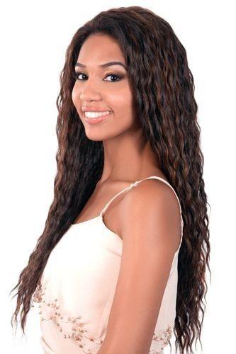 L Tess Motown Tress Synthetic Lets Lace Wig Super Long Deep Wavy