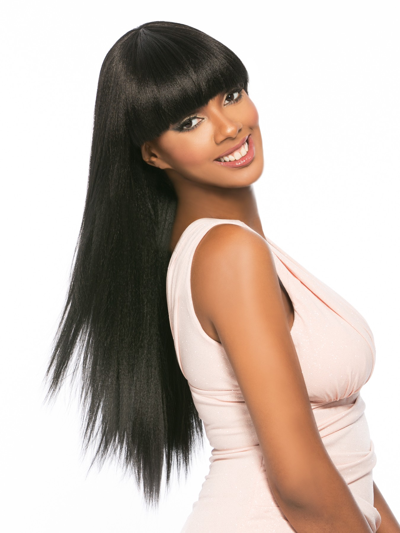 Mega Power Girl Hair Topic Remy Quality Synthetic Wig Cleopatra