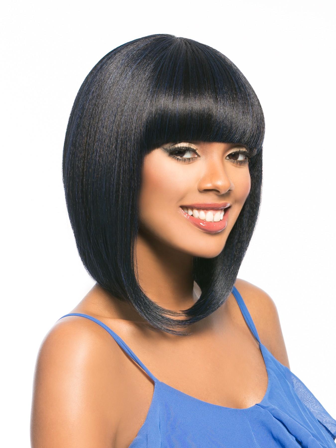 Mega Sugar Girl Hair Topic Synthetic Wig Cleopatra Bang Perfect
