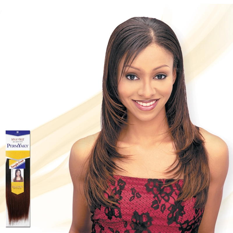 Milkyway 100 Human Hair Weave Extension All Lengths Yaky Perm Ebay