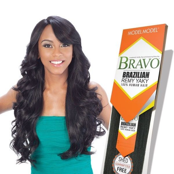 Model Model Bravo Brazilian Remy Yaky 100 Human Hair Weave