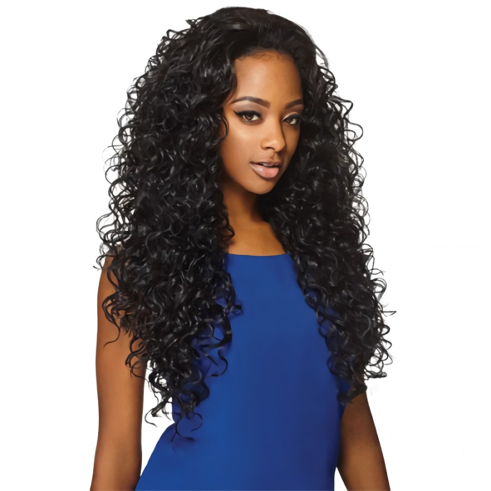 Amber 26 Quot Outre Synthetic Quick Weave Half Wig Long