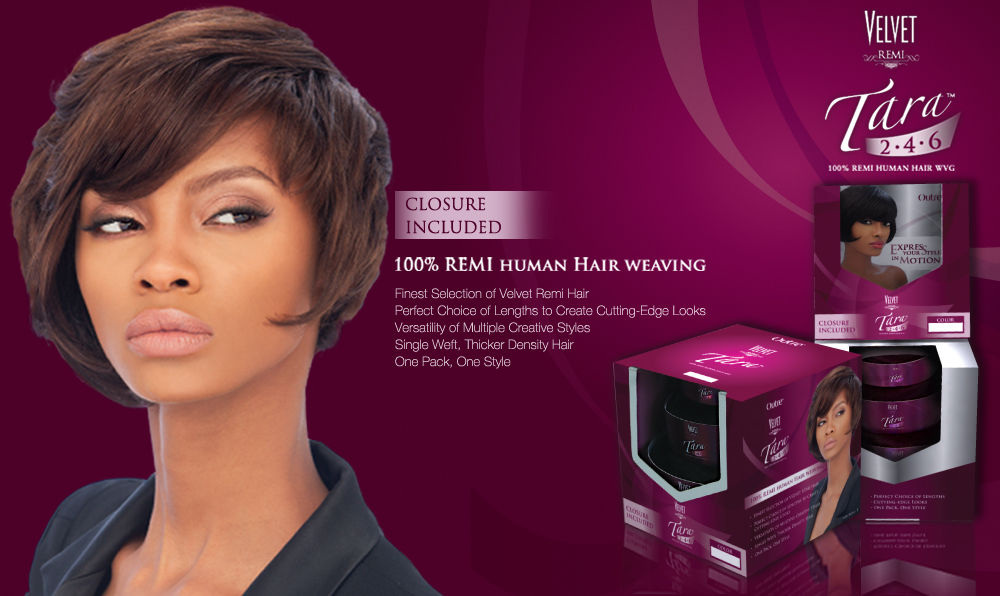 Tara 2 4 6 Outre Velvet Remi 100 Remi Human Hair Weave Extension