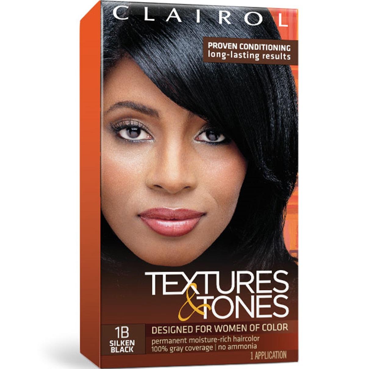 Clairol Textures Tones Permanent Hair Color Dye Kit 1 Application