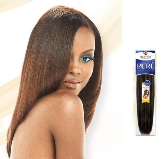 Pure Yaky Weave 18 Quot 20 Quot 22 Quot 24 Quot By Shake N Go Milkyway 100