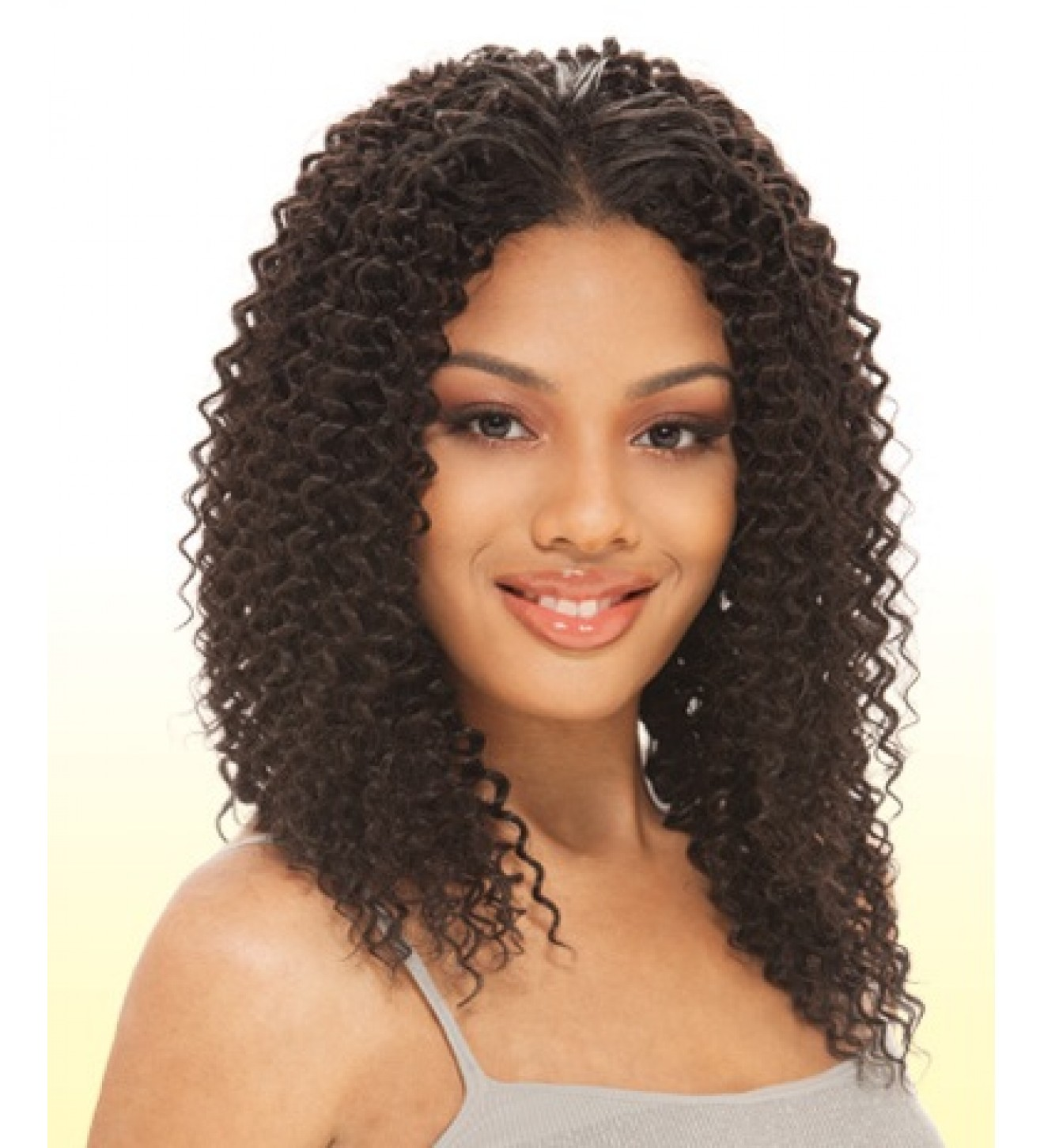Water Weave Que By Milkyway Human Hair Blend Extension 2 Dark