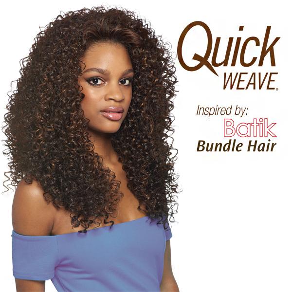 Dominican Curly Bundle Hair Outre Batik Quick Weave