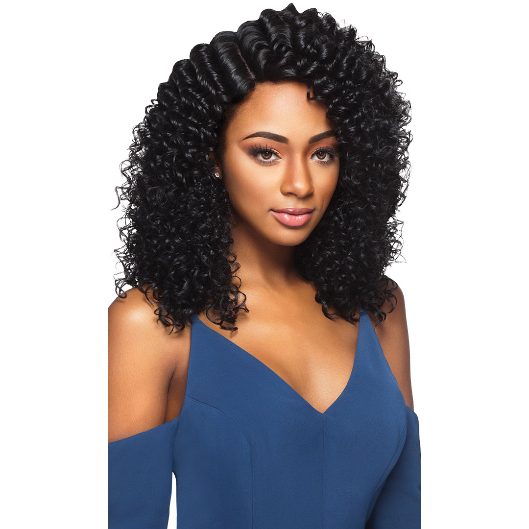 Thalia Outre Synthetic Quick Weave Complete Cap Wig Medium Curly