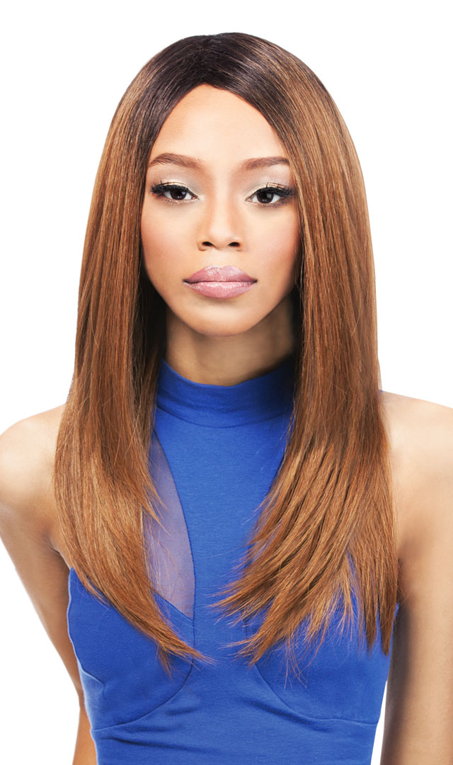 Natural Yaki 18 Outre Quick Weave Synthetic Eco Wig Straight Heat