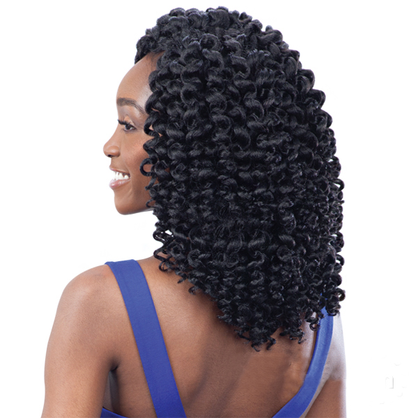 Buy Freetress Synthetic Hair Crochet Braids 2x Ringlet Wand Curl 1b