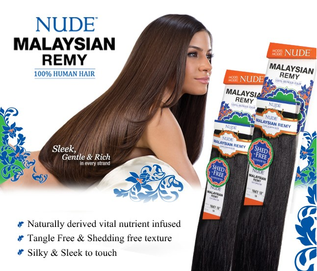 Nude Malaysian Remy Yaky Model Model 100 Human Hair Weave 10s24