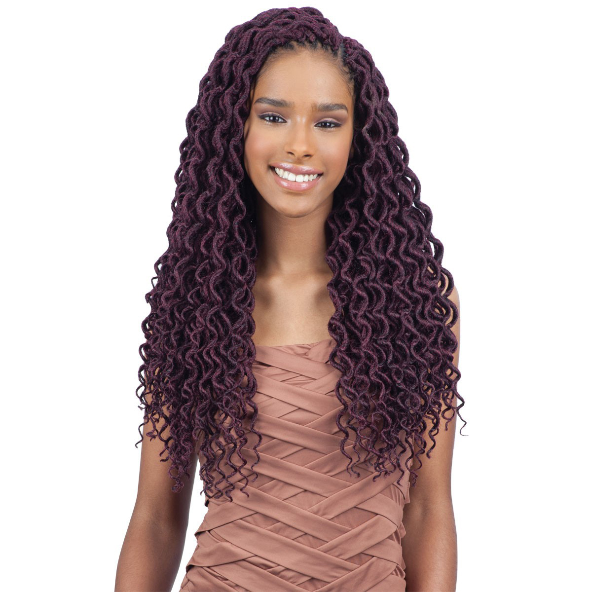 2x Soft Curly Faux Loc 18 Quot Freetress Synthetic Crochet