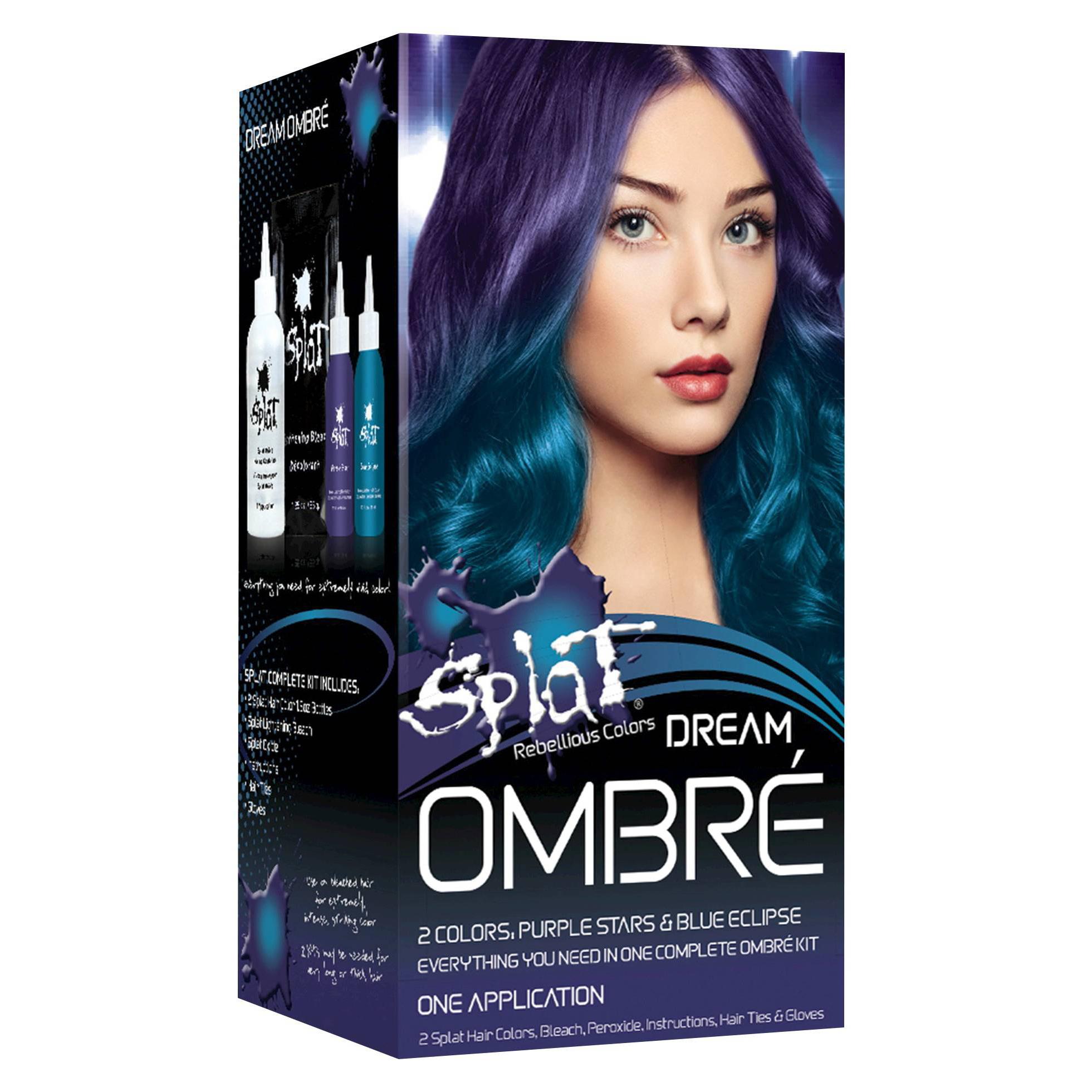 Splat Semi Permanent Complete Kit Hair Color Berry Blast