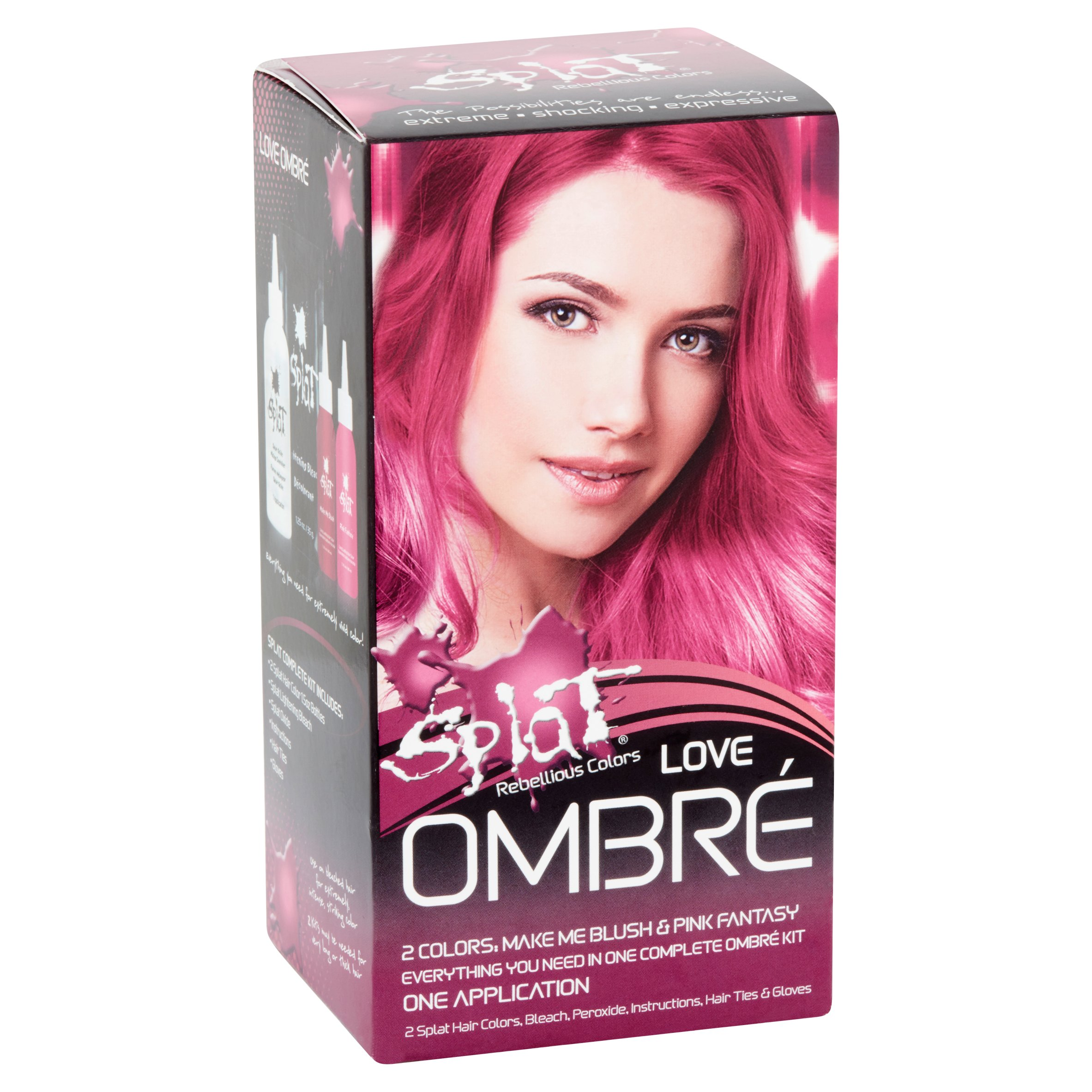 splat rebellious colors semi permanent complete kit
