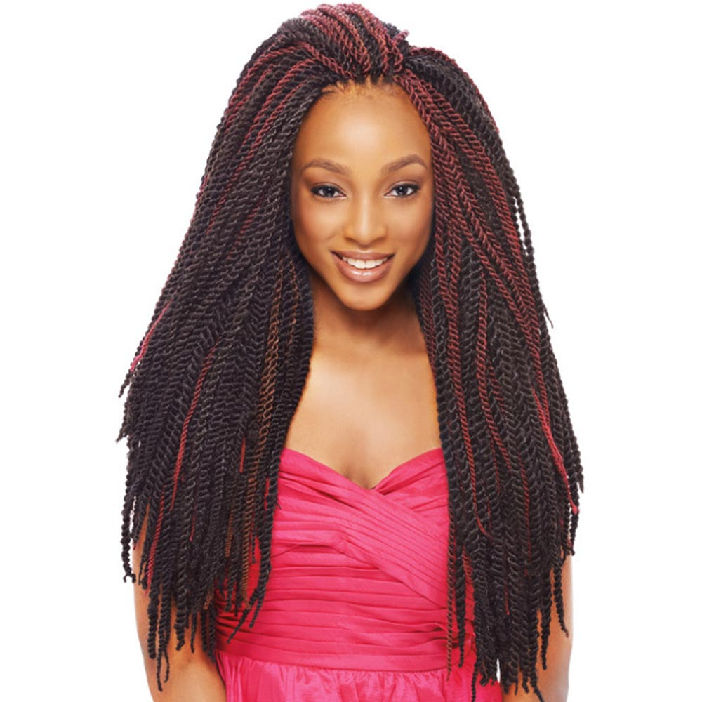 crochet kanekalon hair styles 2x tantalizing twist janet collection noir kanekalon 1289