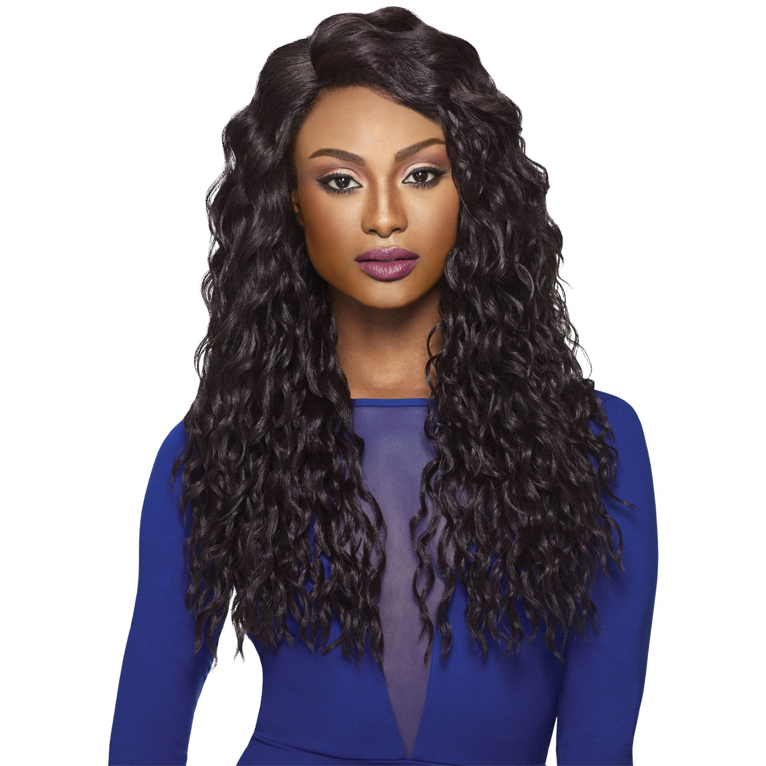 Tatiana Outre Synthetic Quick Weave Complete Cap Wig Long Wavy Ebay