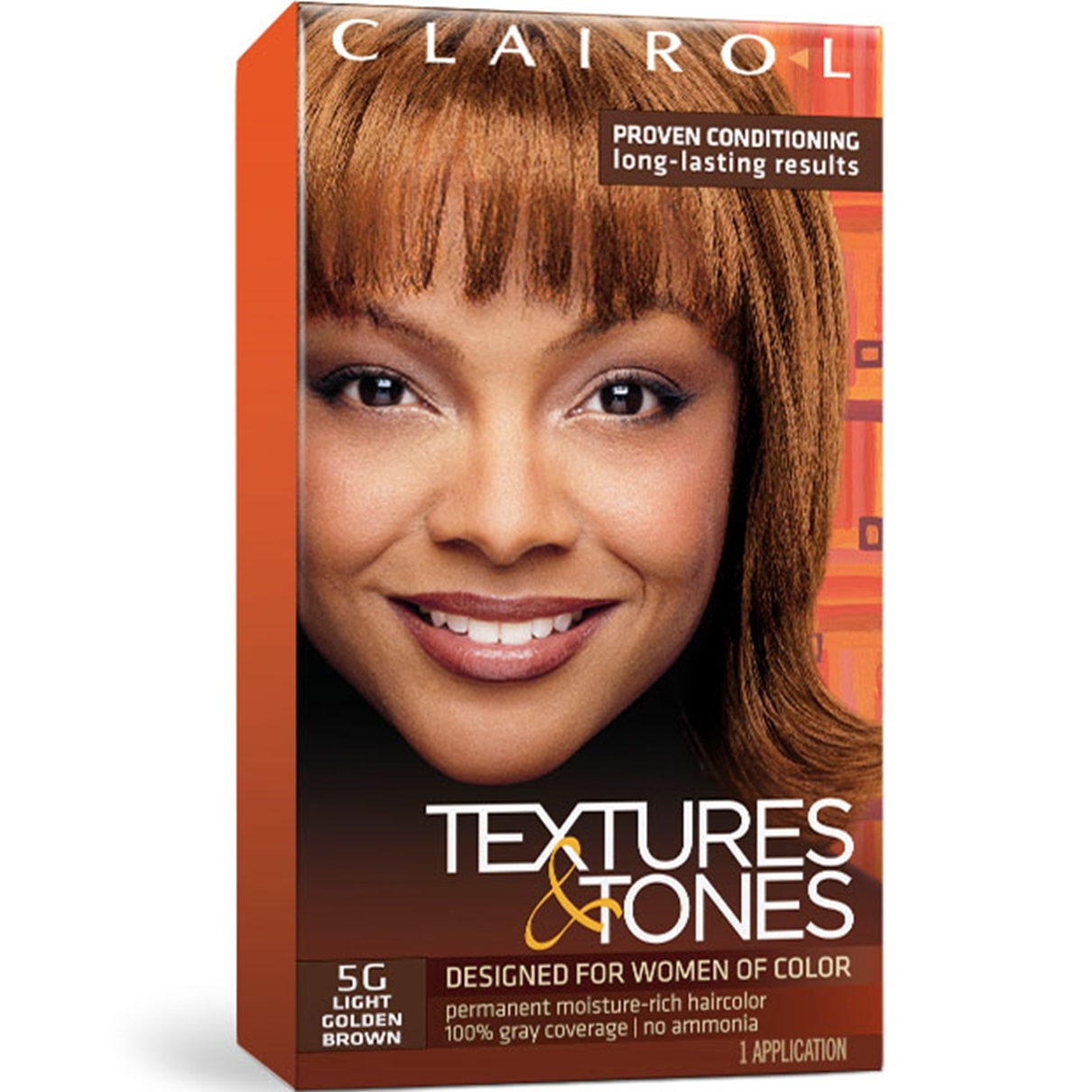 Clairol Textures Amp Tones Permanent Hair Color Dye Kit 1