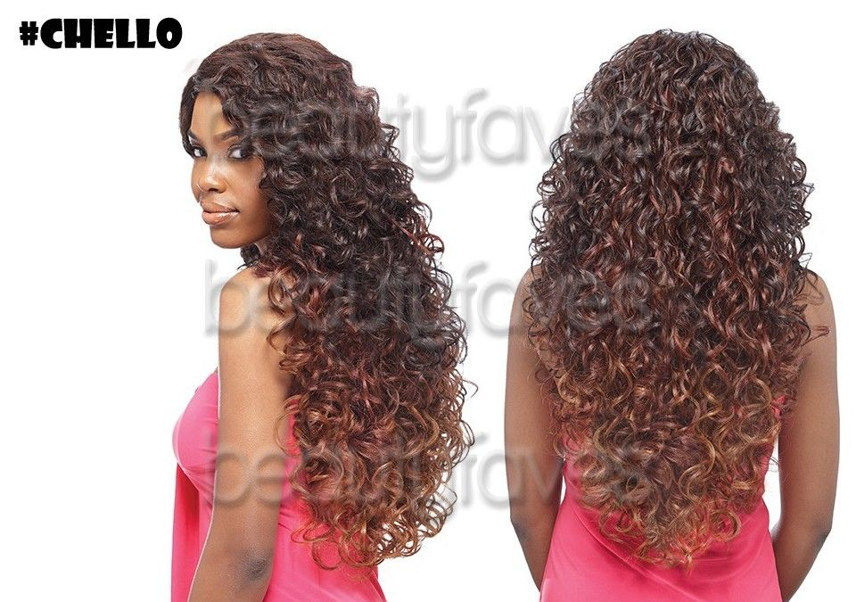 Hair Style Express: TOP SIDE JEKI BY VANESSA SYNTHETIC HAIR EXPRESS LACE FRONT