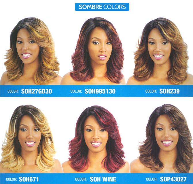 Model Model Synthetic Hair Deep Invisible Part Lace Wig Vienna