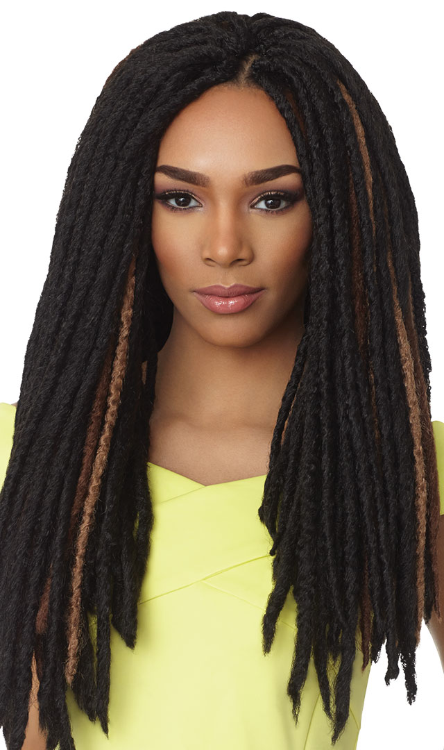styling kanekalon hair faux locs 18 quot outre x pression synthetic crochet 4027