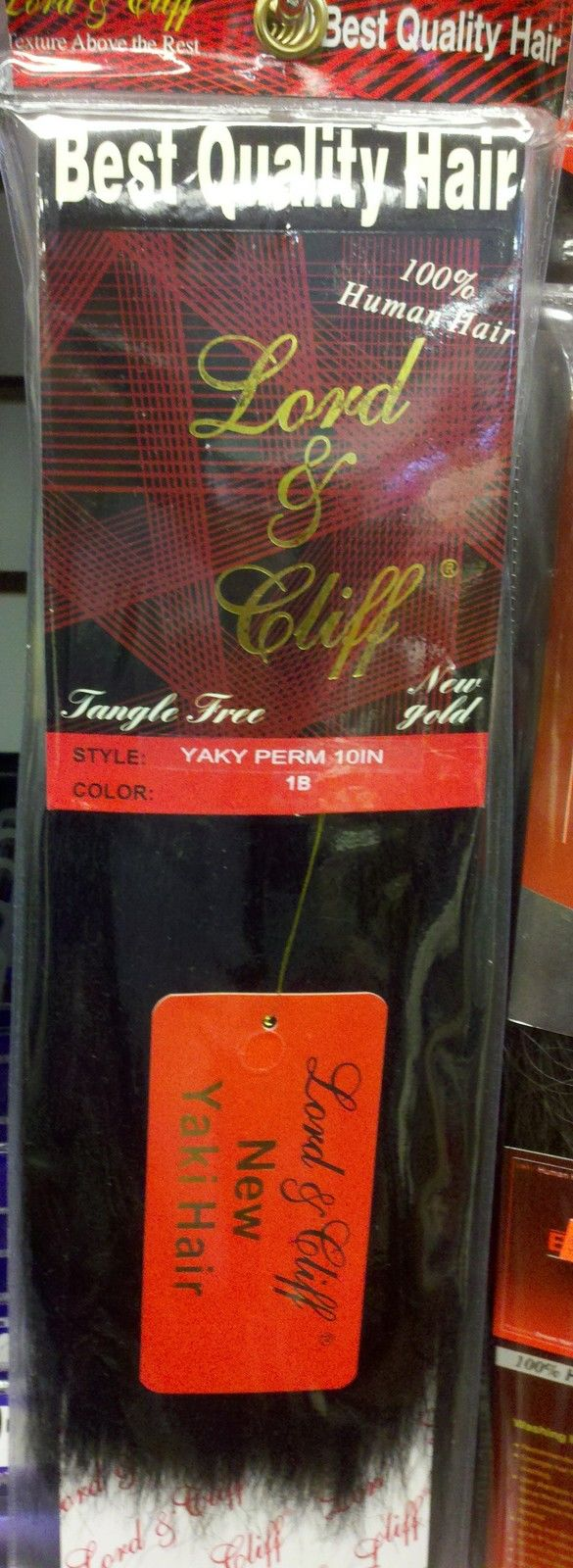 Yaky Perm Lord Amp Cliff 100 Human Hair Straight Weave