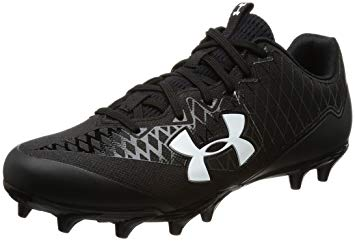 buy online 878d7 a8a71 New Under Armour Nitro Select Low MC Molded Football Cleat Mens Size 13  Blk Wht