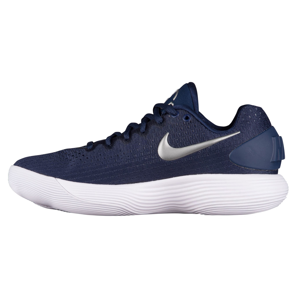 3ccd99574196 Details about New Nike WMNS Hyperdunk 2017 Low TB Navy White Womens 8.5  Basketball Shoes
