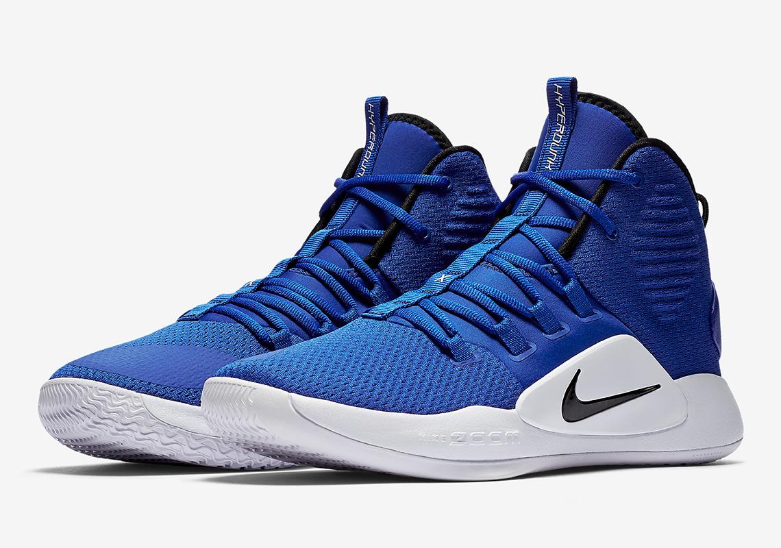 d7c77ff98b4 Details about New Nike Hyperdunk X TB RoyalWhite Black Men 11.5 Women 13  Basketball Shoes
