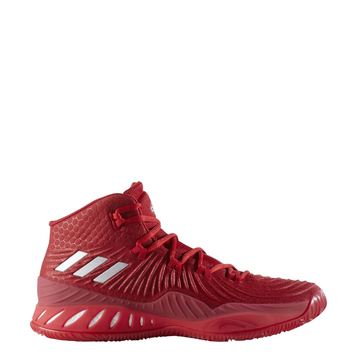 97e97c0aca3c Details about New Adidas Crazy Explosive 2017 Mens 4.5 Basketball Shoes  Red White