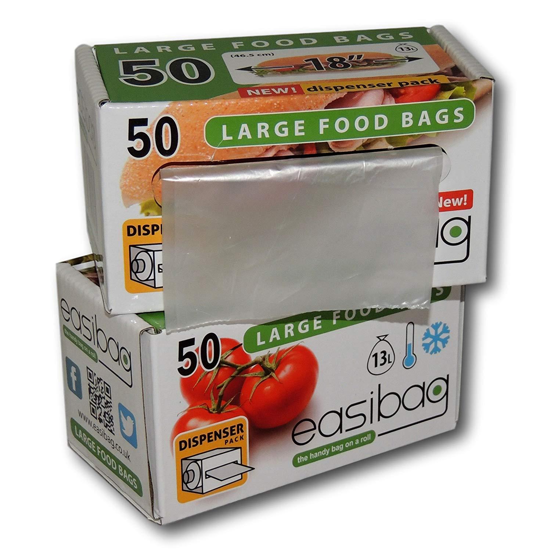 Easibag-Clear-Plastic-Bags-Sandwich-Food-Sports-18-034-Large-Multi-Buy-Deals thumbnail 12