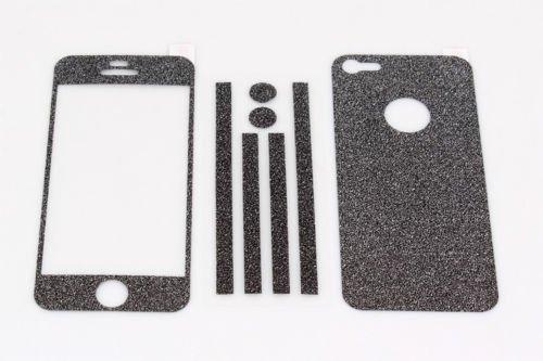 TCD-iPhone-4-4S-Sparkling-Glitter-Full-Body-Skin-Sticker-Film-with-Clear-Screen miniatuur 8