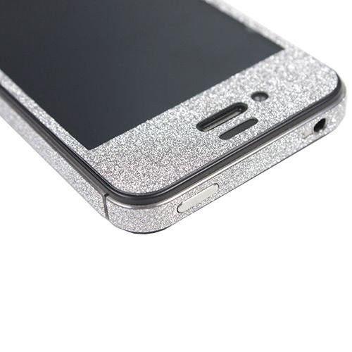 TCD-iPhone-4-4S-Sparkling-Glitter-Full-Body-Skin-Sticker-Film-with-Clear-Screen miniatuur 13