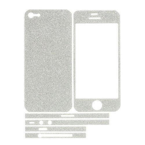 TCD-iPhone-4-4S-Sparkling-Glitter-Full-Body-Skin-Sticker-Film-with-Clear-Screen miniatuur 16
