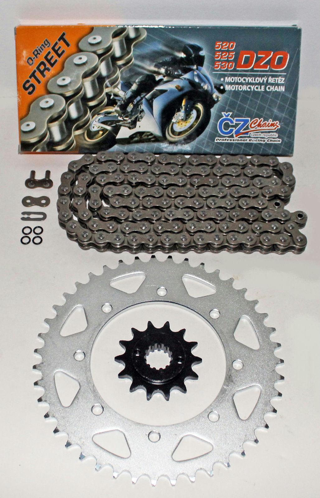 CZ 520 DZO O-Ring Chain Kawasaki 1990-2014 KL650 KLR650 1993-1996 KLX650 R 114L