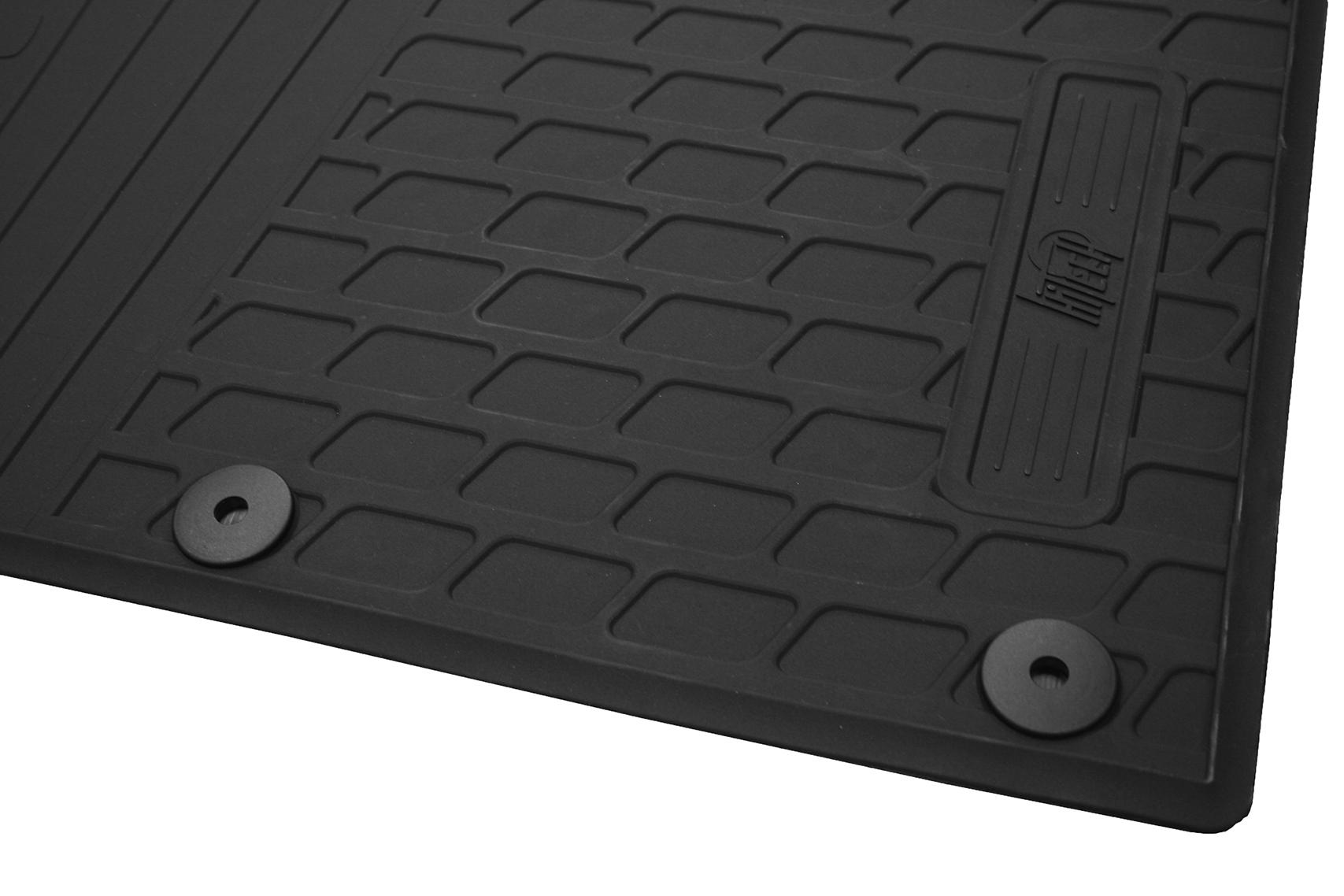 Ford Transit Custom Rubber Floor Mats Floor Matttroy